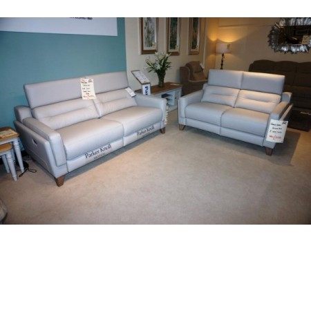 Parker Knoll Design 1801 - Large reclining sofa, 2 seater sofa and power reclining chair