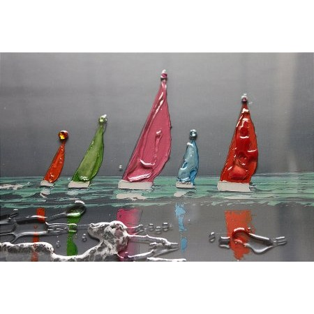 Liquid Art - Sailing Boards Ciel d Orage Detail