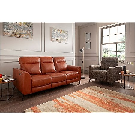 Lazboy - Connor Leather Sofa