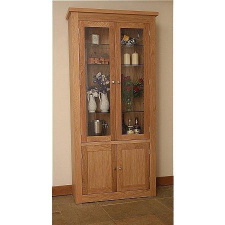Andrena - Elements Glazed Bookcase
