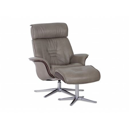 IMG - Space 54.54 Recliner Chair and Stool