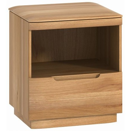 Classic Furniture - Forma 1 Drawer Bedside Cabinet