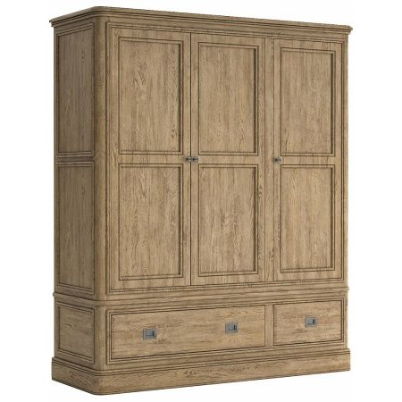 Classic Furniture - Versailles Triple Wardrobe