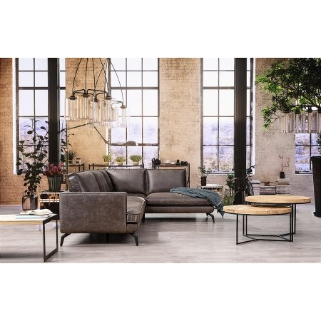 Primavera - Libano Leather Corner Sofa
