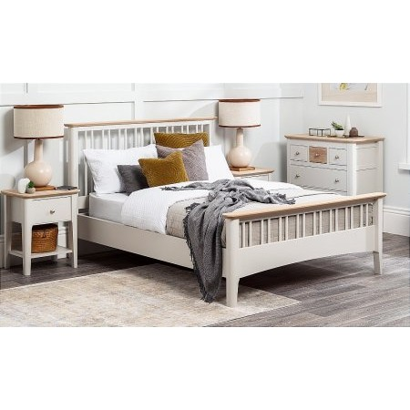TCH - Aria Double Slatted Bedstead