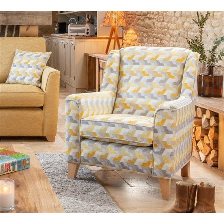 Alstons Upholstery - Reuben Accent Chair