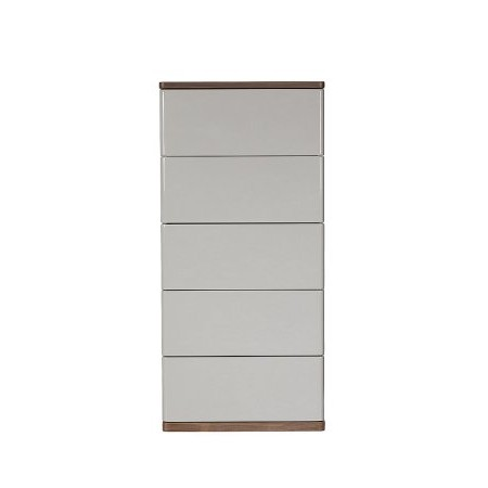 Baker Furniture - Panache 5 Drawer Tall Narrow Chest