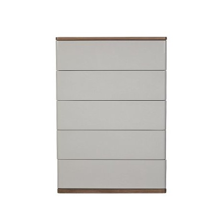 Baker Furniture - Panache 5 Drawer Tall Wide Chest