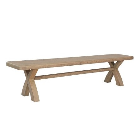 Kettle Interiors - HO 2m Cross Leg Dining Bench