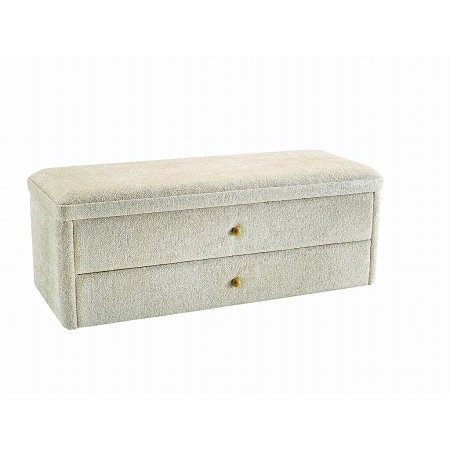 Stuart Jones - Taymar 2 Drawer Ottoman