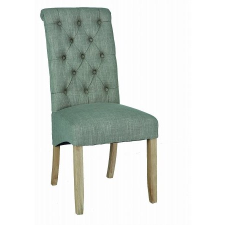 Corndell - Daylesford Grey Button Back Chair