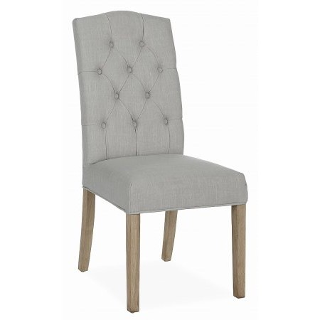 Corndell - Daylesford Beige Button Back Chair