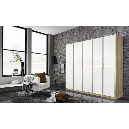 Rauch - Essensa 5 Door Hinged Wardrobe