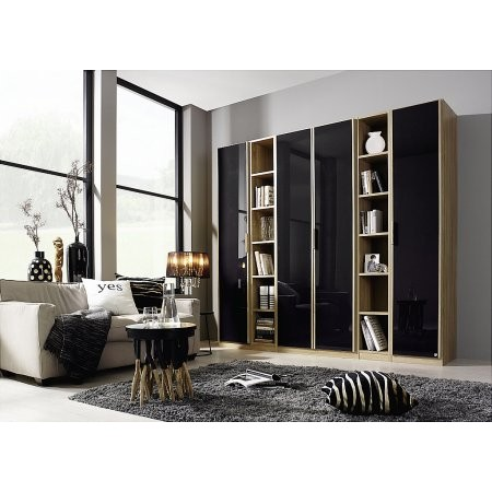 Rauch - Essensa 4 Door Hinged Wardrobe with Shelf Units