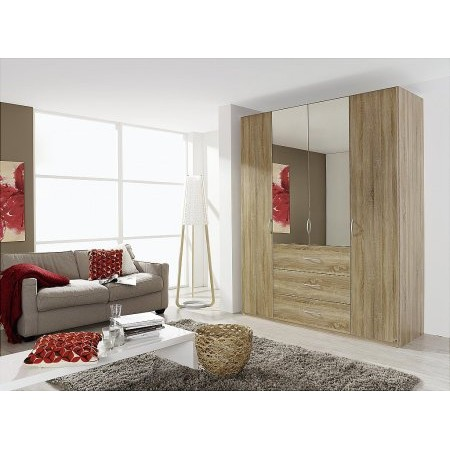 Rauch - Kent 4 Door 3 Drawer Wardrobe
