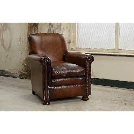 Contrast - Prince Leather Chair