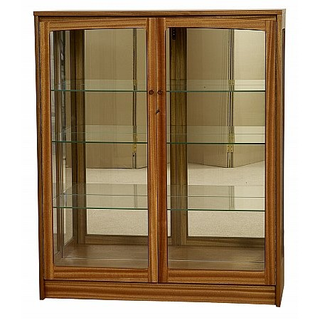 Nathan - Classic Teak Glas display unit