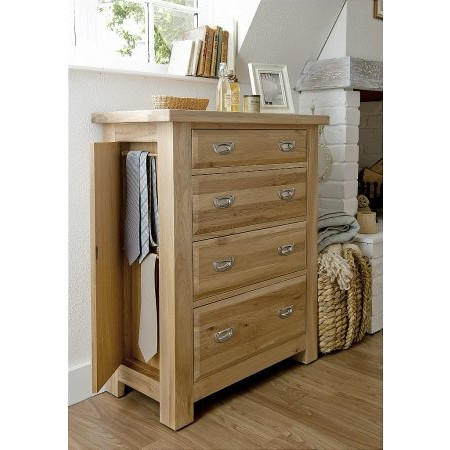Willis And Gambier - Tuscany 4 Drawer Chest with Side Door