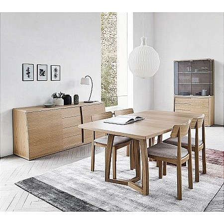 Skovby - SM22 Trestle Table  plus SM96 Chairs