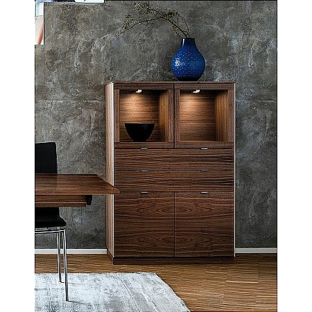 Skovby - SM923 Display Cabinet
