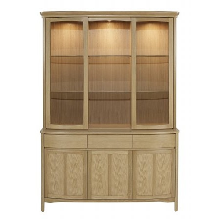 Nathan - Shades Oak Glazed Display Top