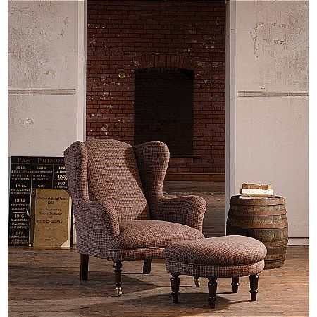 Tetrad - Alban Harris Tweed Chair