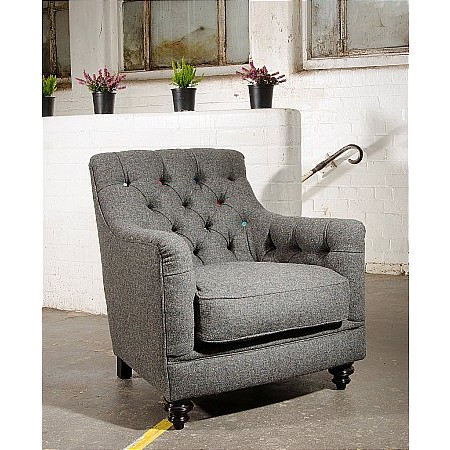 Tetrad - Glencoe Harris Tweed Chair
