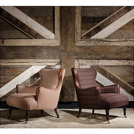 Tetrad - Nairn Harris Tweed Chair