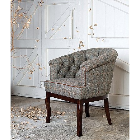 Tetrad - Victoria Harris Tweed Chair