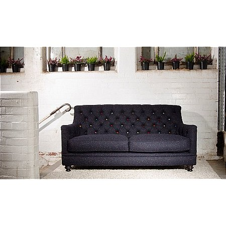 Tetrad - Glencoe Harris Tweed Midi Sofa