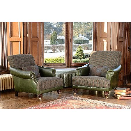 Tetrad - Taransay Harris Tweed Chairs