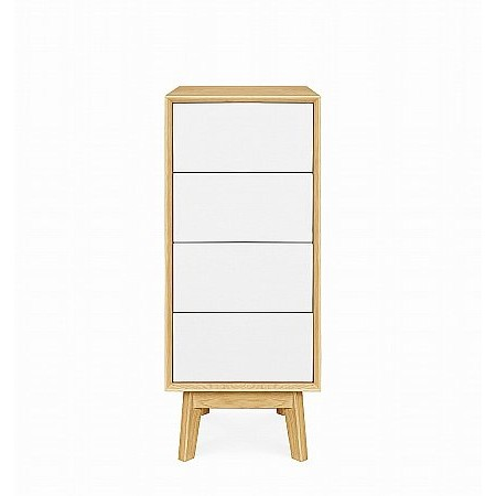 Clemence Richard - Modena Narrow 4 Drawer Chest