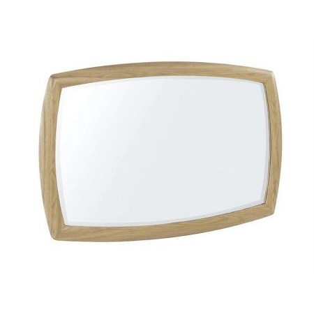 Nathan - Shades Oak Wall Mirror