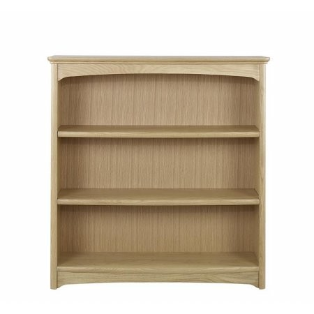 Nathan - Shades Oak Mid Double Bookcase