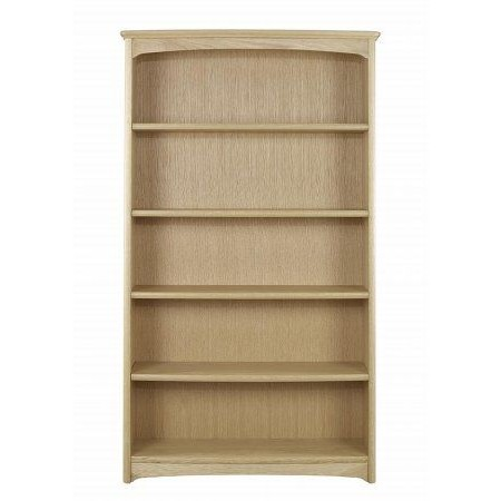 Nathan - Shades Oak Tall Double Bookcase