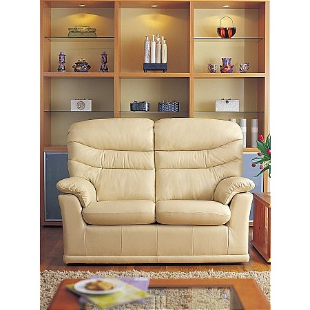 G Plan Upholstery - Malvern 2 Seater Leather Sofa