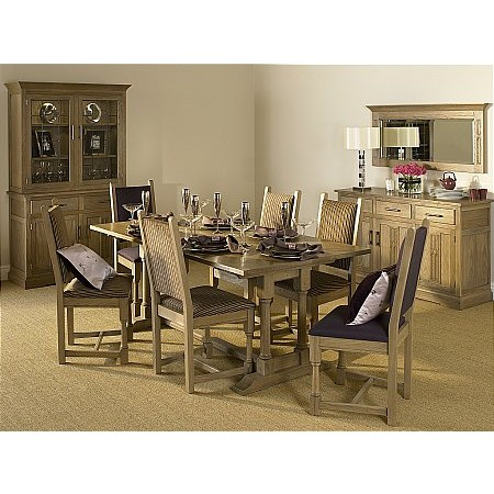 Old Charm - Smoked Oak Dining