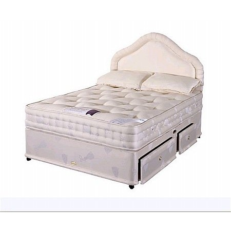 Healthbeds - Exclusive Backcare Deluxe 1400 Divan