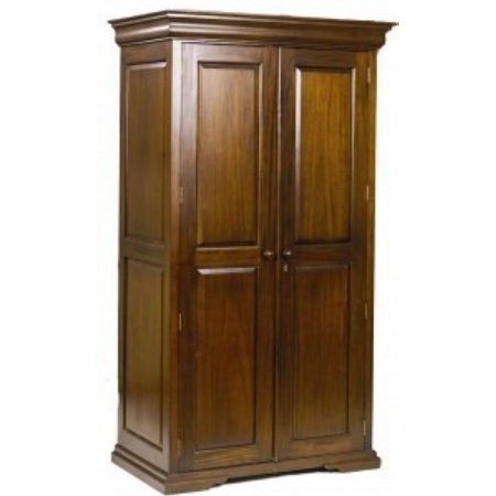 Baker Furniture - Deluxe Sleigh 2 Door Wardrobe