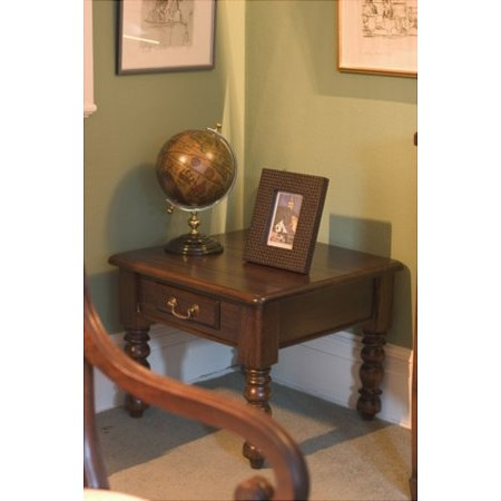 Baker Furniture - Mahogany Lamp Table