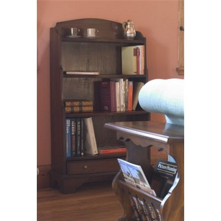 Baker Furniture - Mahogany Bow front Bookcase