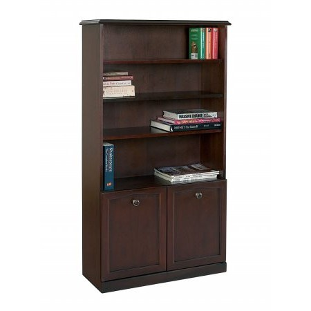 Sutcliffe - Hampton Bookcase with Cupboard