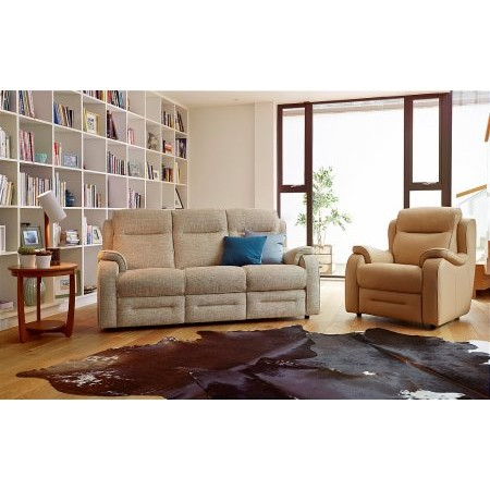 Parker Knoll - Boston 3 Seater Recliner Sofa