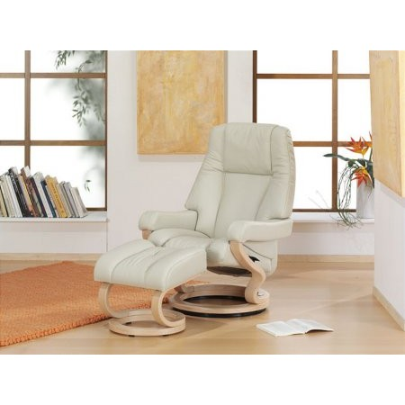 Zerostress - Carron Leather Recliner