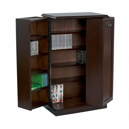 Sutcliffe - Hampton DVD and CD Storage Cabinet
