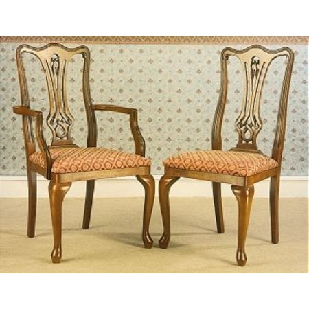 Gola - Cherry Chippendale Dining Chairs