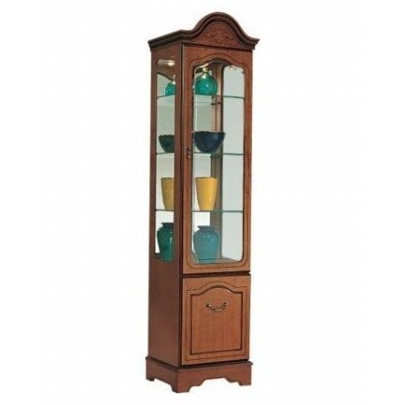 Gola - Cherry Tall Display Cabinet