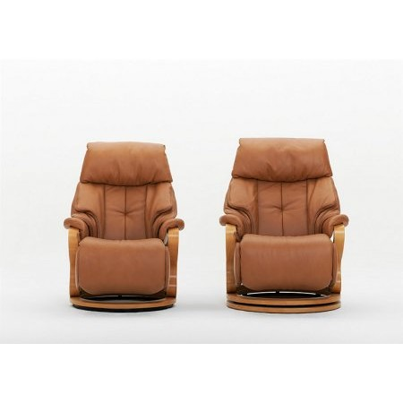 Cumuly - Chester Leather Recliner