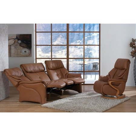 Cumuly - Chester Leather Recliner Suite