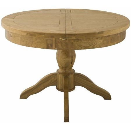 Classic Furniture - Portland Grand Round Butterfly Extending Dining Table Oak
